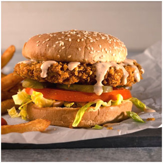 Hungry Planet Chicken™ Southwest Chipotle Patties MAIN