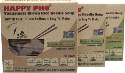 Happy Pho Vietnamese Brown Rice Noodle Soups