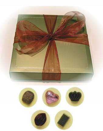 Vegan Hazelnut Truffle Mix by Rose City Chocolatier MAIN