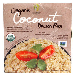 Organic Coconut Brown Rice by Healthee THUMBNAIL