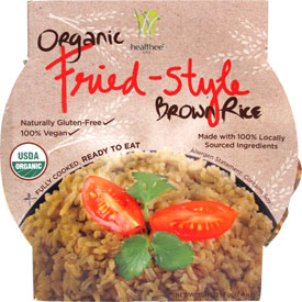 Organic Fried-Style Brown Rice Bowl by Healthee