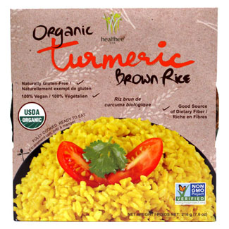 Organic Turmeric Brown Rice by Healthee LARGE