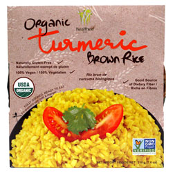 Organic Turmeric Brown Rice by Healthee THUMBNAIL