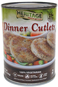 Dinner Cutlets by Heritage Health Foods