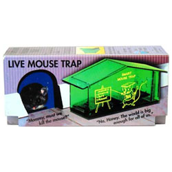 Humane No-Kill Mousetrap THUMBNAIL