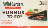 Wild Garden Hummus-To-Go Packs