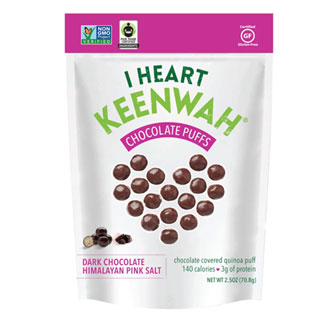Dark Chocolate Sea Salt Quinoa Puffs by I Heart Keenwah MAIN