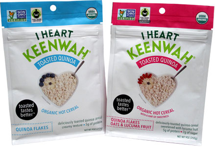 Organic Toasted Quinoa Hot Cereals by I Heart Keenwah