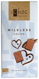 iChoc Milkless Organic Chocolate Bar