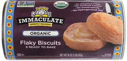 Organic Flaky Biscuits by Immaculate Baking LARGE