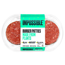 Impossible Burger Patties - 2 pack THUMBNAIL