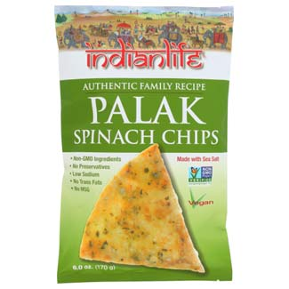 Palak Spinach Chips by Indianlife MAIN