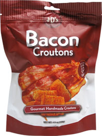 Vegan Bacon Croutons by J&D's