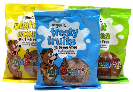 VegeBears Organic Gummy Bears by Just Wholefoods