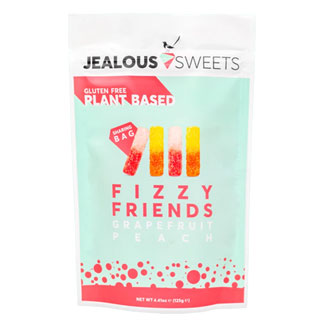 Jealous Sweets Fizzy Friends Gummy Candies - 125g bag MAIN