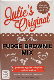 Gluten-Free Fudge Brownie Mix by Julie's Original
