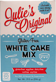 Gluten-Free White Cake Mix by Julie's Original