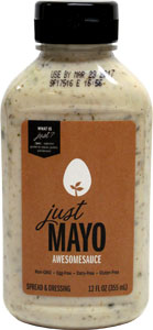 Just Mayo Awesomesauce Spread and Dressing by Hampton Creek Foods