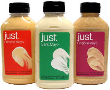 Just Mayo Squeeze Bottles by Hampton Creek Foods