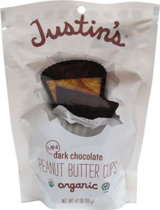 Justin's Organic Mini Dark Peanut Butter Cups