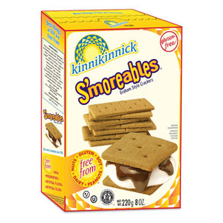 S'moreables Graham Style Crackers by Kinnikinnick Foods MAIN