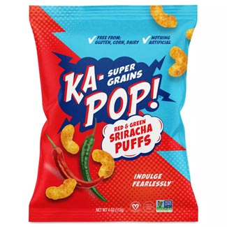 Ka-Pop! Dairy-Free Sriracha Puffs - 4 oz. bag MAIN