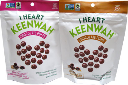 Chocolate Quinoa Puffs by I Heart Keenwah