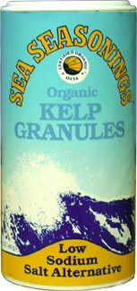 Sea Seasonings Organic Kelp Granules