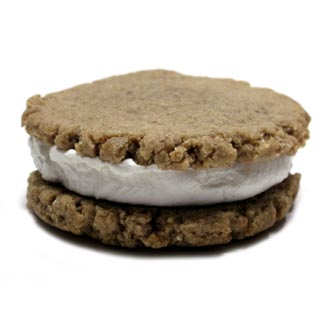 Key Lime Pie Cookie Cream Sandwiches by Bit Baking Co. MAIN