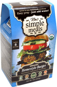 Organic Homestyle Burger Mix by Kim's Simple Meals