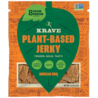 Krave Plant-Based Jerky - Korean BBQ MAIN