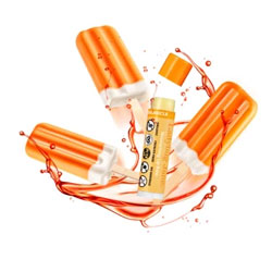 Ladybug Jane Organic Lip Balm - Orange Creamsicle THUMBNAIL