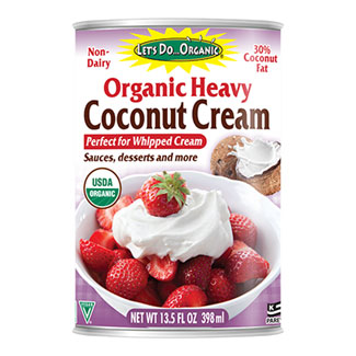 Let's Do Organic Heavy Coconut Cream MAIN