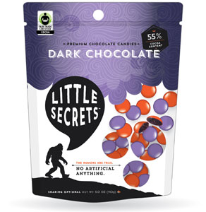 Little Secrets Vegan Dark Chocolate Beans