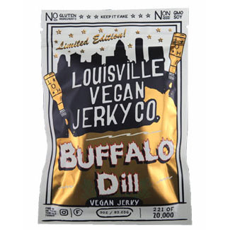 Buffalo Dill Limited-Edition Jerky by Louisville Jerky Co. LARGE