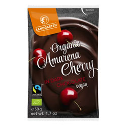 Organic Chocolate Covered Cherries by Landgarten THUMBNAIL