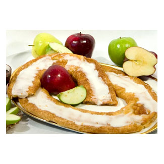 Vegan Danish Kringle by Larsen Bakery - Apple LARGE