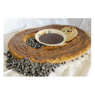 Danish Kringle by Larsen Bakery - Chocolate Custard-Filled MAIN