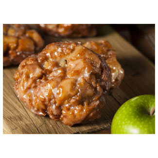 Apple Fritters by Larsen Bakery LARGE