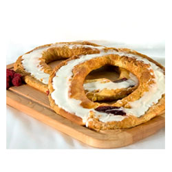 Vegan Danish Kringle by Larsen Bakery - Raspberry THUMBNAIL