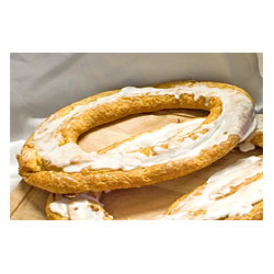 Vegan Danish Kringle by Larsen Bakery - Vanilla Custard-Filled THUMBNAIL