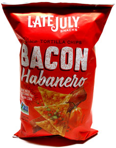 Vegan Bacon Habanero Tortilla Chips by Late July
