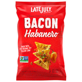 Bacon Habanero Tortilla Chips by Late July LARGE