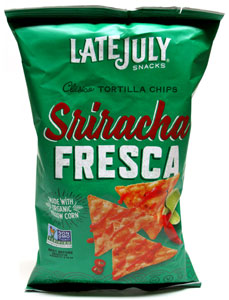 Sriracha Fresca Tortilla Chips by Late July