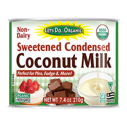 Let's Do Organic Sweetened Condensed Coconut Milk THUMBNAIL