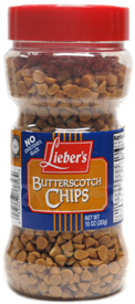 Vegan Butterscotch Baking Chips by Lieber's LARGE