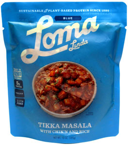 Chik'n Tikka Masala with Rice by Loma Linda Blue