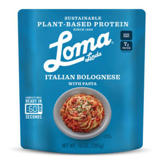 Italian Bolognese with Pasta by Loma Linda Blue MAIN