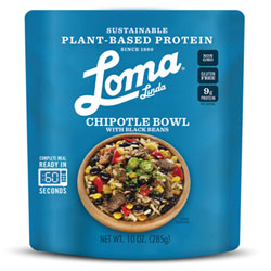 Chipotle Bowl with Black Beans by Loma Linda THUMBNAIL