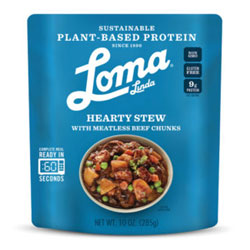 Hearty Stew with Meatless Beef Chunks by Loma Linda Blue THUMBNAIL